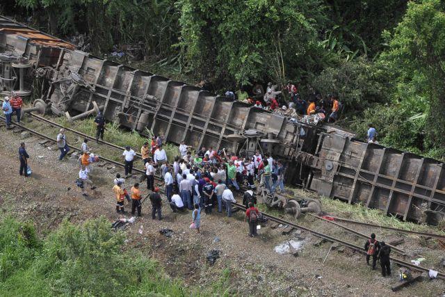 Σιδηροδρομικό δυστύχημα με πέντε νεκρούς στο Μεξικό | tanea.gr