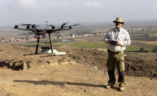 Ιπτάμενα ρομπότ φυλάνε τα μνημεία των Ινκας από τους αρχαιοκαπήλους | tanea.gr