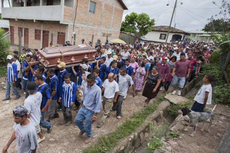 Εξι παιδιά σκοτώθηκαν από κατολίσθηση σε χωριό στα βόρεια της Ονδούρας | tanea.gr