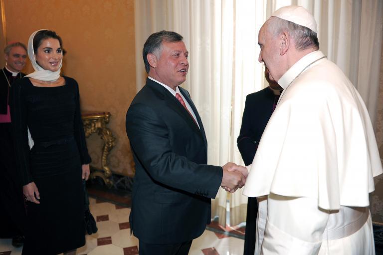 Διάλογο για την επίλυση της συριακής κρίσης προκρίνουν ο Πάπας και ο βασιλιάς Αμπντάλα της Ιορδανίας | tanea.gr