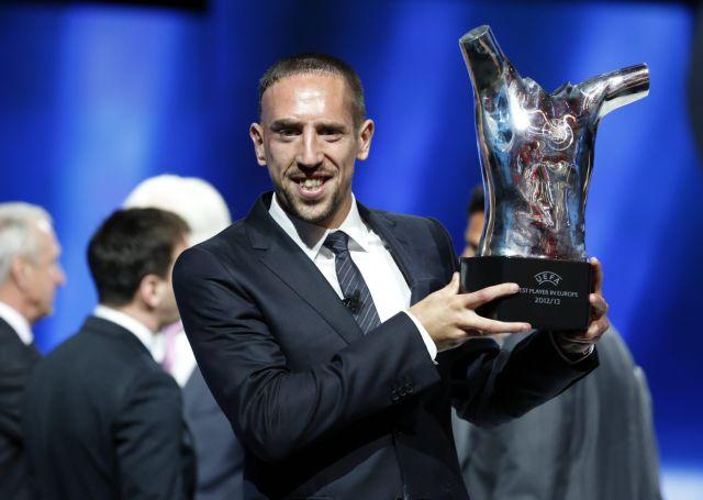 Ο Φρανκ Ριμπερί αναδείχτηκε κορυφαίος ποδοσφαιριστής στην Ευρώπη   tanea.gr