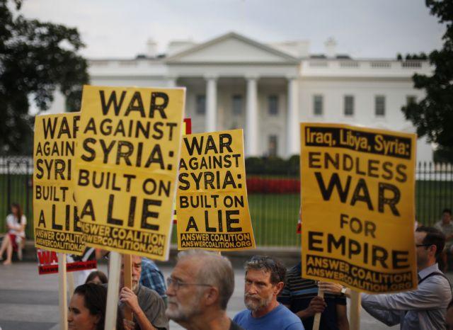 Προς αναζήτηση συμμάχων οι ΗΠΑ για την επέμβαση στη Συρία | tanea.gr