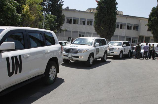 Στο Λίβανο βρίσκονται οι επιθεωρητές του ΟΗΕ για τα χημικά στη Συρία | tanea.gr