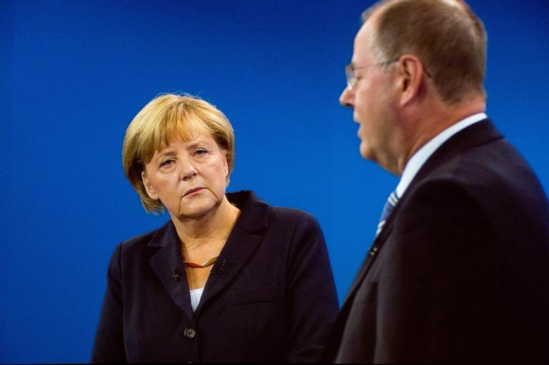«Πιθανά νέα πακέτα βοήθειας προς την Ελλάδα» λέει η Μέρκελ στο ντιμπέιτ με Στάινμπρουκ | tanea.gr