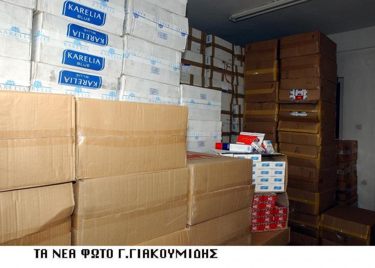 Εξαρθρώθηκε κύκλωμα λαθρεμπορίας τσιγάρων   tanea.gr