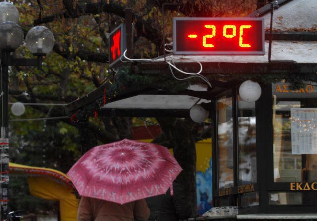 Υπό το μηδέν η θερμοκρασία στη Βόρεια Ελλάδα   tanea.gr