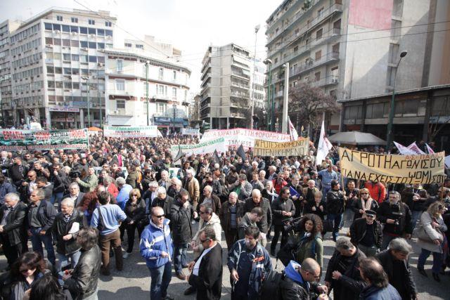Παναγροτικό συλλαλητήριο στο Σύνταγμα - Κυκλοφοριακά προβλήματα στο κέντρο της Αθήνας | tanea.gr