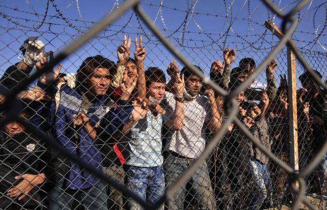 Συγκέντρωση διαμαρτυρίας κατά των κέντρων κράτησης μεταναστών   tanea.gr