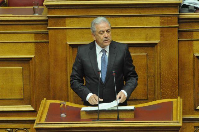 Αβραμόπουλος: «Μειωμένος κατά 52% ο προϋπολογισμός του υπουργείου Αμυνας σε σχέση με το 2009» | tanea.gr