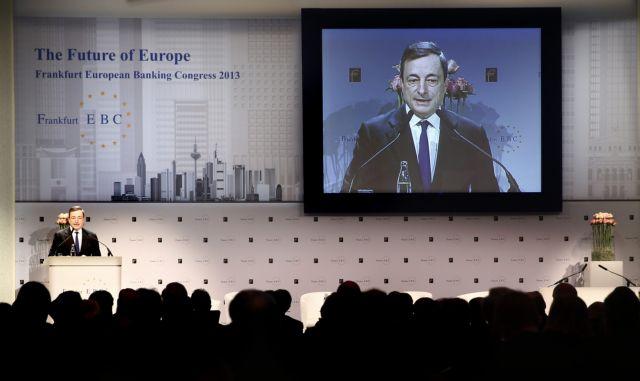 Μάριο Ντράγκι: Βραδεία η ανάκαμψη της ευρωζώνης - στο 1,1% το 2014   tanea.gr