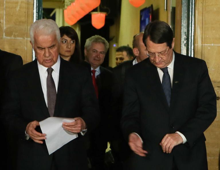 Εκτακτη σύσκεψη Αναστασιάδη με τους αρχηγούς των κομμάτων εν αναμονή εξελίξεων στο Κυπριακό   tanea.gr