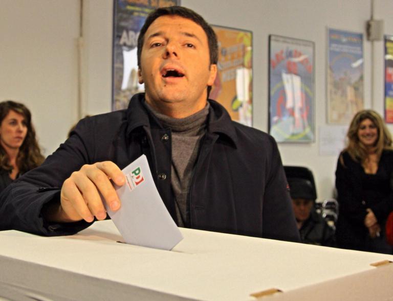 Με 69% ο δήμαρχος της Φλωρεντίας Ματέο Ρέντσι παίρνει τα ηνία της ιταλικής Κεντροαριστεράς | tanea.gr