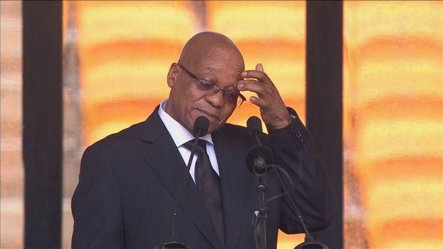Αποδοκιμάστηκε ο πρόεδρος της Νότιας Αφρικής!   tanea.gr
