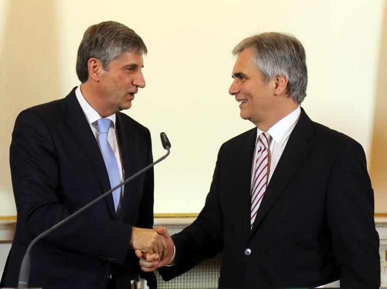 Ορκίζεται τη Δευτέρα η νέα κυβέρνηση μεγάλου συνασπισμού και στην Αυστρία | tanea.gr