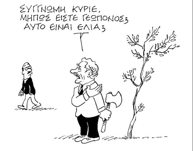 Ο Κώστας Μητρόπουλος σατιρίζει την επικαιρότητα  14-12-2013,5   tanea.gr