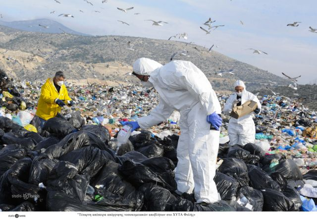 Τοξική βόμβα στις χωματερές από νοσοκομειακά απόβλητα   tanea.gr