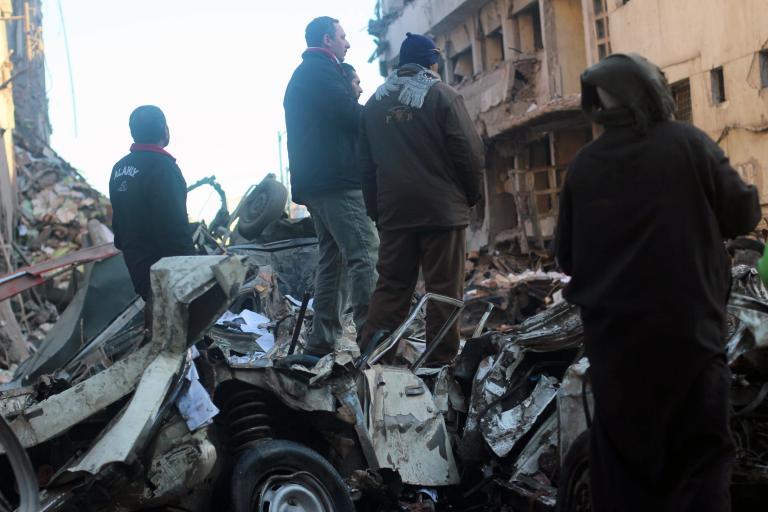 Πέντε άνθρωποι τραυματίστηκαν ελαφρά από την επίθεση εναντίον λεωφορείου στο Κάιρο | tanea.gr