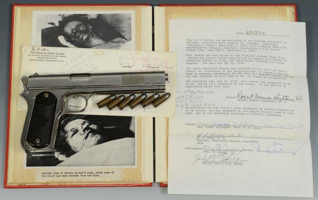 Στη δημοπρασία πιστόλι των Μπόνι και Κλάιντ | tanea.gr