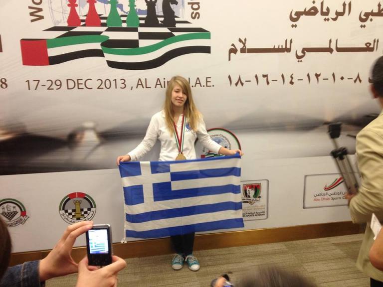 Συγχαρητήρια Παπούλια στη νεαρή Σταυρούλα Τσολακίδου, πρωταθλήτρια κόσμου στο σκάκι   tanea.gr