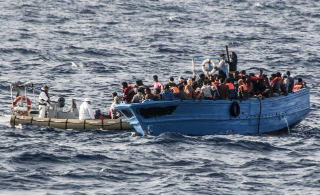 Διασώθηκαν 97 μετανάστες ανοικτά της Λιβύης   tanea.gr
