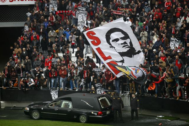Δεκάδες χιλιάδες Πορτογάλοι είπαν το τελευταίο «αντίο» στον Εουσέμπιο | tanea.gr