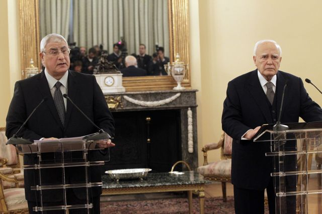 Το θέμα της ΑΟΖ έθεσε ο Παπούλιας στον πρόεδρο της Αιγύπτου   tanea.gr