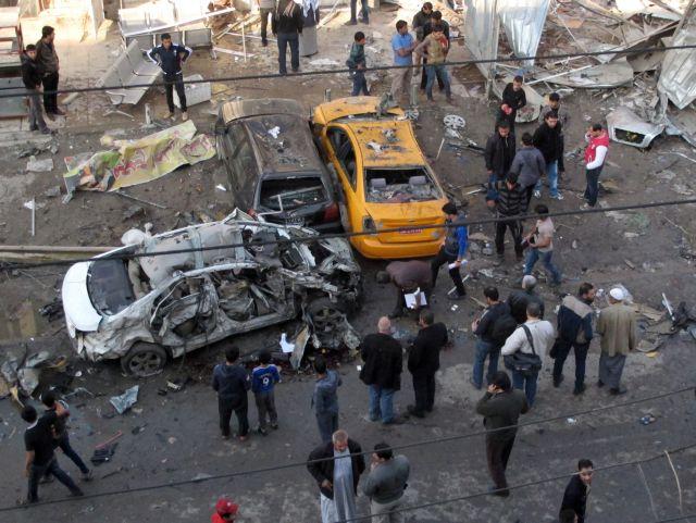 Ιράκ: Τουλάχιστον 26 νεκροί απο διαδοχικές βομβιστικές επιθέσεις στη Βαγδάτη | tanea.gr