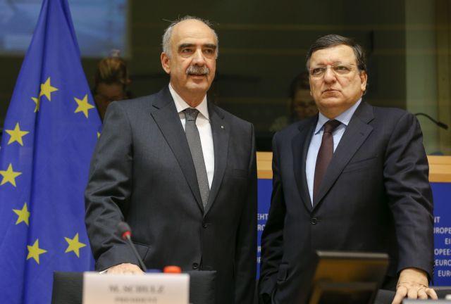 Συνάντηση Μεϊμαράκη - Μπαρόζο με θέμα την ενίσχυση των εθνικών κοινοβουλίων | tanea.gr