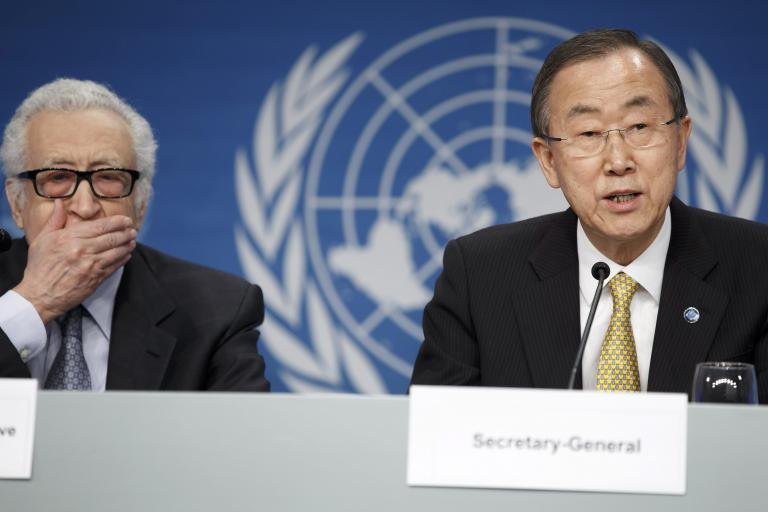 Οι αντιμαχόμενες πλευρές της Συρίας αρχίζουν διάλογο μετά τη Γενεύη 2 | tanea.gr