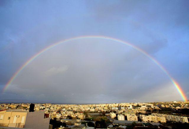 Κρήτη: Σπάνιο θέαμα στον ουρανό του Ηρακλείου | tanea.gr