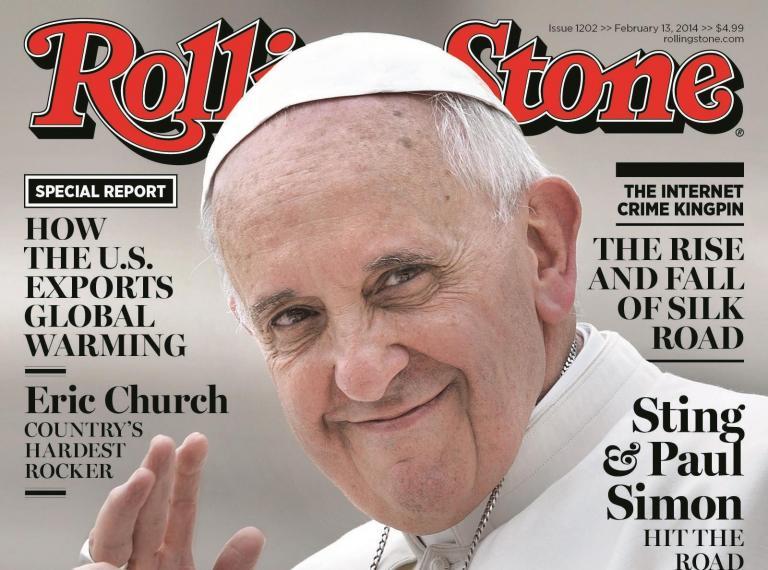 Δυσφορία του Βατικανού επειδή το Rolling Stone συγκρίνει τον Φραγκίσκο με τον Βενέδικτο ΙΣτ' | tanea.gr