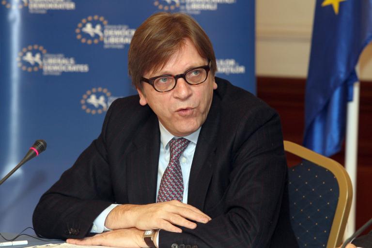 Ο Γκι Φέρχοφστατ θα είναι υποψήφιος για την προεδρία της Ευρωπαϊκής Επιτροπής με τους Φιλελεύθερους | tanea.gr