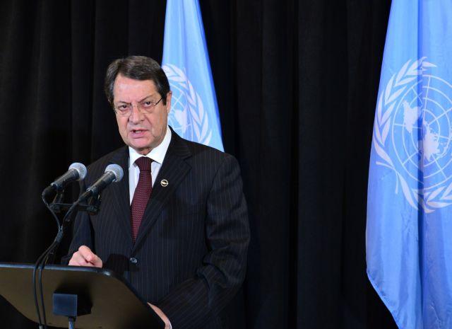 Αναστασιάδης: «Σοβαρές προοπτικές για ένα κοινό ανακοινωθέν για το Κυπριακό» | tanea.gr