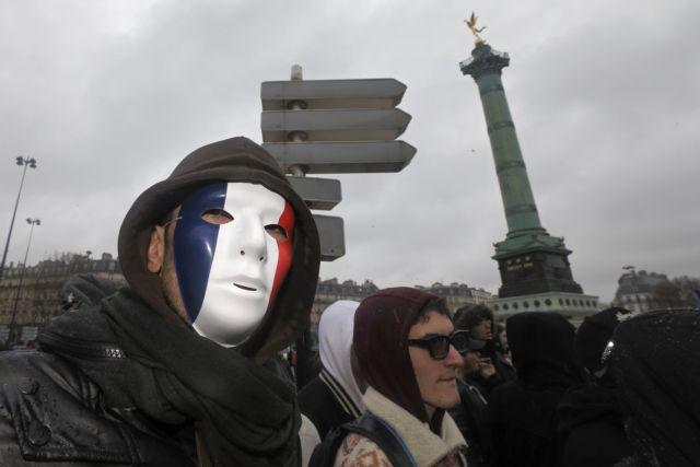 Διαδηλώσεις σε όλη τη Γαλλία κατά της οικονομικής πολιτικής   tanea.gr