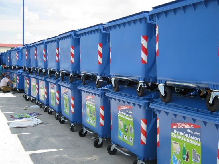 Εκλεψαν πέντε τόνους ανακυκλώσιμα υλικά από τους μπλε κάδους στη Θεσσαλονίκη   tanea.gr