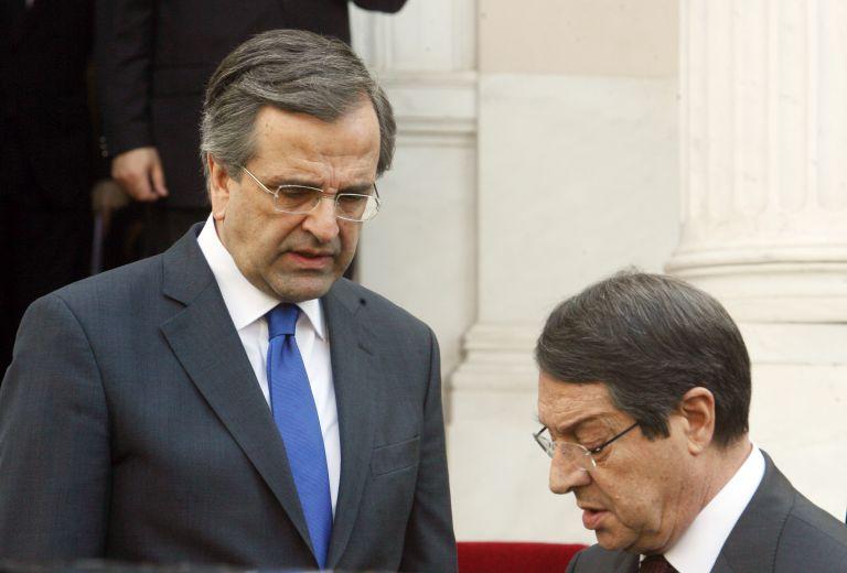 «Δύο παράλληλα δημοψηφίσματα για τη λύση στο Κυπριακό» ζήτησε ο Αντ. Σαμαράς   tanea.gr