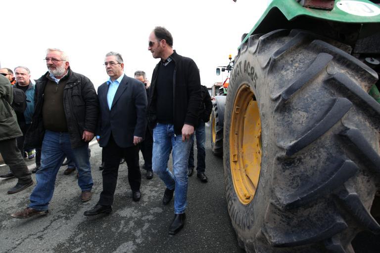 Κουτσούμπας: «Το ΚΚΕ συμπαραστέκεται στον αγώνα των αγροτών» | tanea.gr