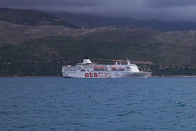 Eτοιμο το «Aegean Paradise» να δεχθεί σεισμόπληκτους | tanea.gr