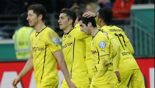 Η Ντόρτμουντ προκρίθηκε στην ημιτελική φάση του γερμανικού Κυπέλλου | tanea.gr