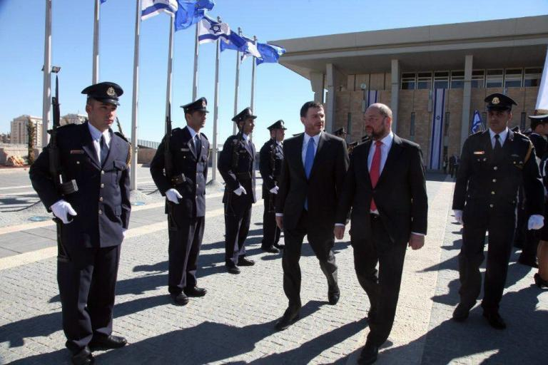 Ισραήλ: Οργή σε βουλευτές προκάλεσε ομιλία του Μάρτιν Σουλτς για τη διαχείριση του νερού   tanea.gr