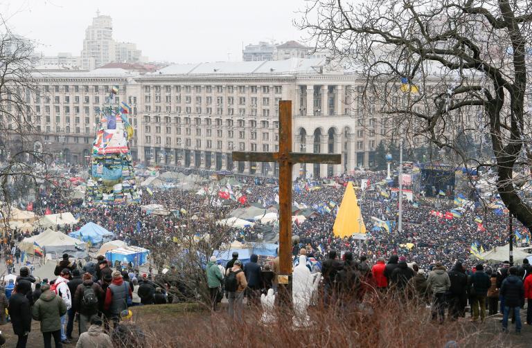 Ουκρανία: Σε ισχύ από τη Δευτέρα ο νόμος για την αμνήστευση διαδηλωτών | tanea.gr