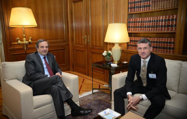 Με τον πρόεδρο της Lidl Hellas συναντήθηκε ο Αντ. Σαμαράς | tanea.gr