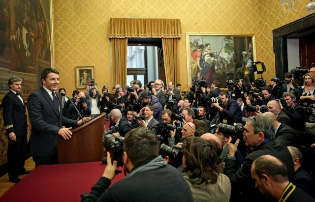 Ιταλία: Ο Ρέντσι ήθελε διάλογο, ο Γκρίλο σόου   tanea.gr