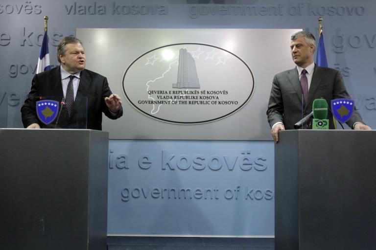 Η αναγνώριση του Κοσόβου περνά μέσα από την ευρωπαϊκή προοπτική του, ξεκαθάρισε ο Βενιζέλος στον Θάτσι   tanea.gr
