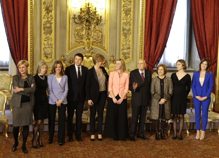 Ορκίστηκαν τα μέλη της νέας ιταλικής κυβέρνησης | tanea.gr
