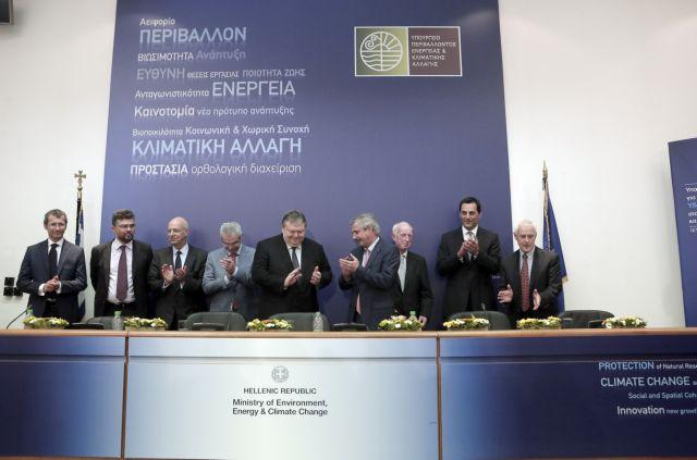 «Επεσαν» οι υπογραφές για τους υδρογονάνθρακες - Βενιζέλος: «Προτεραιότητα η οριοθέτηση της ΑΟΖ»   tanea.gr
