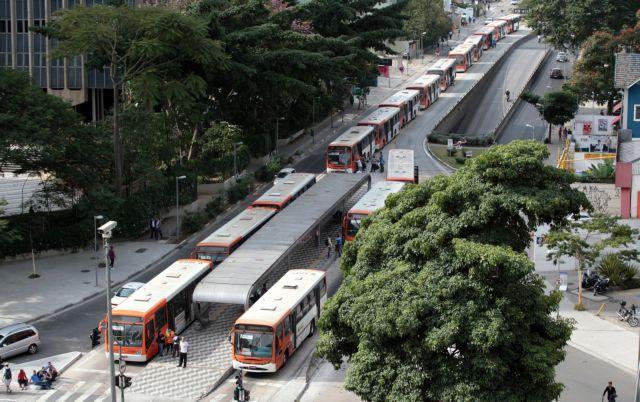 Τα μποτιλιαρίσματα στο Σάο Πάολο έφθασαν το μήκος - ρεκόρ των 344 χιλιομέτρων | tanea.gr