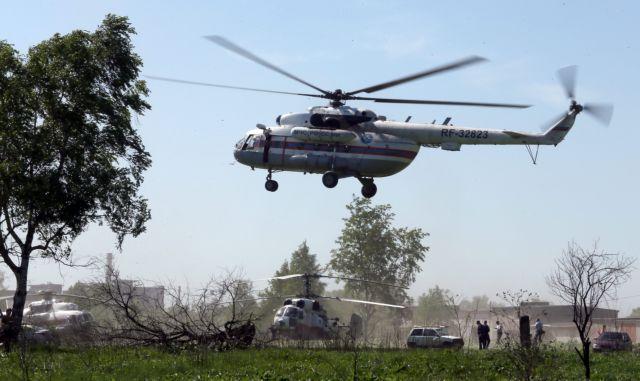 Ρωσία: Δεκαέξι νεκροί σε πτώση ελικοπτέρου στο Μουρμάνσκ | tanea.gr