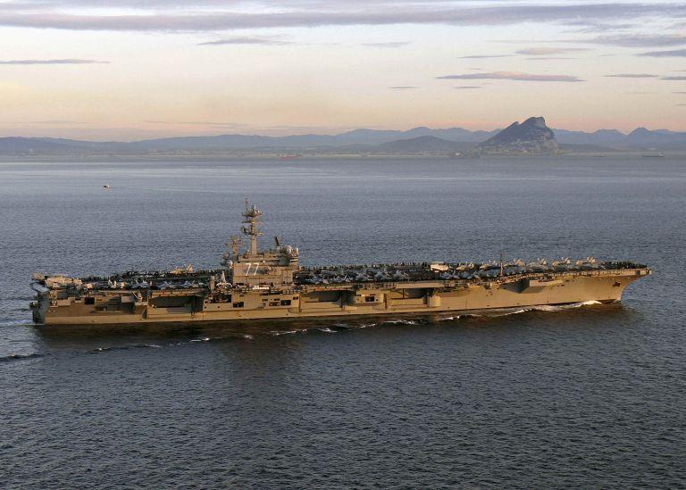 Οι ΗΠΑ στέλνουν το αεροπλανοφόρο Τζορτζ Μπους στον Περσικό Κόλπο | tanea.gr