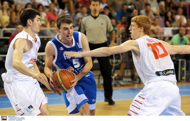 Ευρωμπάσκετ: Ήττα της Εθνικής Νέων από την Ισπανία | tanea.gr